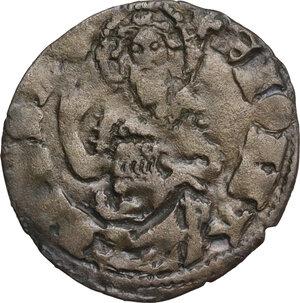 reverse: Firenze.  Repubblica (Sec. XIII-1532). Quattrino III serie 1371-1373 (?) , segno non identificabile