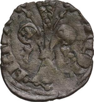 obverse: Firenze.  Repubblica (Sec. XIII-1532). Quattrino III serie, 1373 I sem., Davanzato di Giovanni Davanzati maestro di zecca