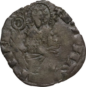 reverse: Firenze.  Repubblica (Sec. XIII-1532). Quattrino III serie, 1373 I sem., Davanzato di Giovanni Davanzati maestro di zecca