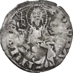 reverse: Firenze.  Repubblica (1189-1532).. Quattrino 1373 II sem., Bartolo di Giovanni Siminetti maestro di zecca