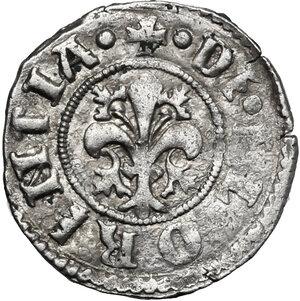 obverse: Firenze.  Repubblica (1189-1532).. Soldino da 12 denari 1463 II sem., Quirico di Giovanni Pepi maestro di zecca