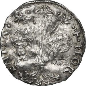 obverse: Firenze.  Repubblica ( sec.XIII-1532). Grosso da 7 soldi 1503 II sem. Giovanni di Adovardo Portinari maestro di zecca