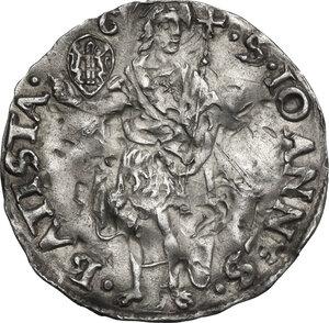 reverse: Firenze.  Repubblica ( sec.XIII-1532). Grosso da 7 soldi 1503 II sem. Giovanni di Adovardo Portinari maestro di zecca