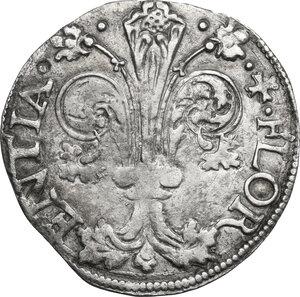 obverse: Firenze.  Repubblica (1189-1532).. Grosso da 7 soldi 1509 II sem., Mariotto Rucellai maestro di zecca