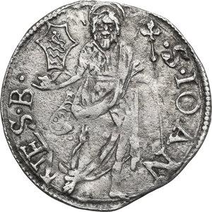 reverse: Firenze.  Repubblica (1189-1532).. Grosso da 7 soldi 1509 II sem., Mariotto Rucellai maestro di zecca