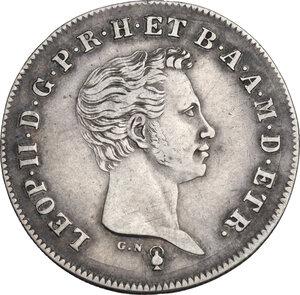 obverse: Firenze.  Leopoldo II di Lorena (1824-1859). Paolo 1838  G N (Giuseppe Niderost, incisore) e fiasca (Domenico Fiaschi, direttore di zecca)