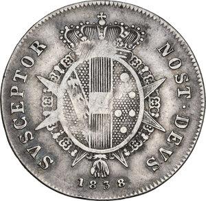 reverse: Firenze.  Leopoldo II di Lorena (1824-1859). Paolo 1838  G N (Giuseppe Niderost, incisore) e fiasca (Domenico Fiaschi, direttore di zecca)