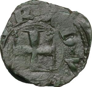 reverse: Genova.  Repubblica (1139-1339).. Quartaro