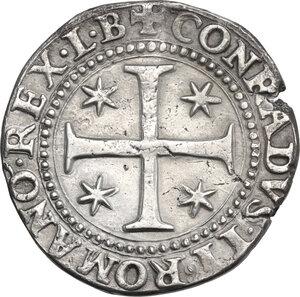 reverse: Genova.  Dogi Biennali (1528-1797), II fase (1541-1637).. Mezzo Scudo 1573