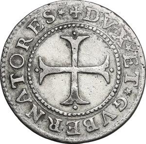 reverse: Genova.  Dogi Biennali (1528-1797), III fase (1637-1797).. Cavallotto 1669