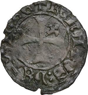 obverse: L Aquila.  Renato d Angiò (1435-1442). Quattrino
