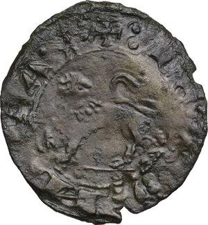 reverse: L Aquila.  Renato d Angiò (1435-1442). Quattrino