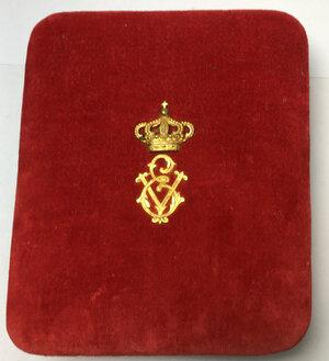 reverse: Ordine della Corona d Italia.. Placca da petto, distintivo e miniatura
