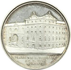 reverse: Pio XI (1922-1939).. Medaglia annuale, anno VII