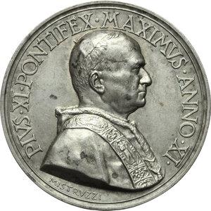 obverse: Pio XI (1922-1939), Achille Ratti. Medaglia annuale, A. XI. Nuova Pinacoteca Vaticana