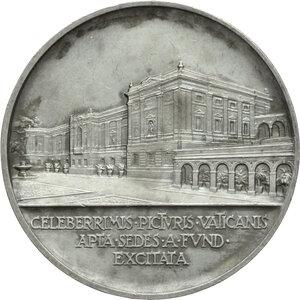 reverse: Pio XI (1922-1939), Achille Ratti. Medaglia annuale, A. XI. Nuova Pinacoteca Vaticana