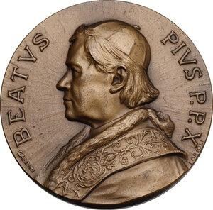 obverse: Pio X (1903-1914), Giuseppe Melchiorre Sarto. Medaglia (1951) per la Beatificazione di Pio X