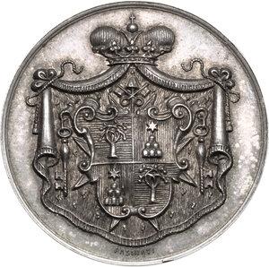 obverse: Sede Vacante (1939). Medaglia emessa dal Maresciallo del Conclave Principe Ludovico Chigi