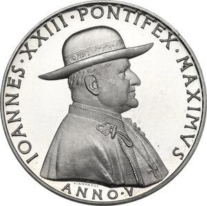 obverse: Giovanni XXIII (1958-1963), Angelo Roncalli. Medaglia annuale, A. V