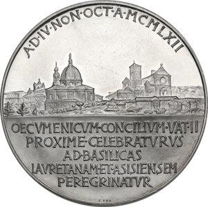 reverse: Giovanni XXIII (1958-1963), Angelo Roncalli. Medaglia annuale, A. V