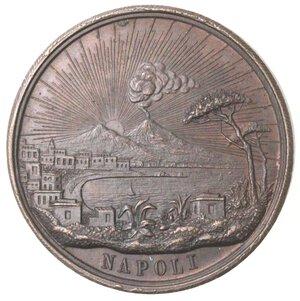 obverse: Medaglie. Napoli. Medaglia per il comizio dei veterani 1848-49. Ae.