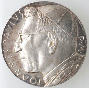 obverse: Medaglie. Roma.Giovanni Paolo I. 1978.Medaglia 1978.Ag.