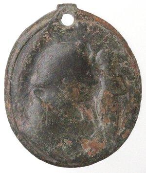 reverse: Medaglie. Medaglia Devozionale. XV Sec. Ae. D/ San Gennaro.