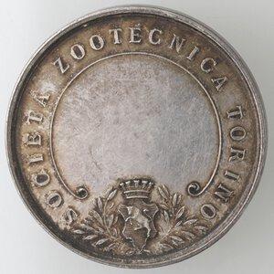 obverse: Medaglie. Torino. Ag. D/ SOCIETA  ZOOTECNICA TORINO. 1910 .