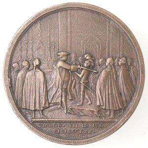 reverse: Medaglie. Germania. Arciduca. Massimiliano coadiutore del Gran Maestro dell Ordine Teutonico. Medaglia 1770. Ae.