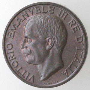 obverse: Vittorio Emanuele III. 1900-1943.10 centesimi 1928 Ape. Ae.