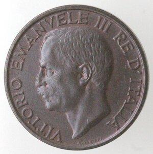 obverse: Vittorio Emanuele III. 1900-1943.10 centesimi 1932 Ape. Ae.