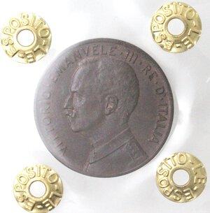 obverse: Vittorio Emanuele III.1900-1943.5 Centesimi 1913 Italia su prora. Ae.