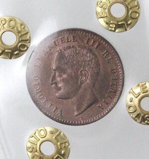 obverse: Vittorio Emanuele III. 1900-1943.2 centesimi 1903 valore. Ae.
