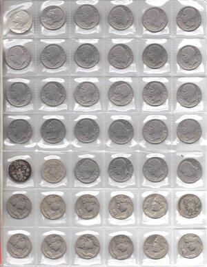 obverse: Vittorio Emanuele III. 1900-1943.Lotto di 48 monete da 20 Centesimi. Date ripetute. Ni-Ac.