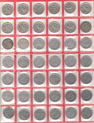 reverse: Vittorio Emanuele III. 1900-1943.Lotto di 48 monete da 20 Centesimi. Date ripetute. Ni-Ac.