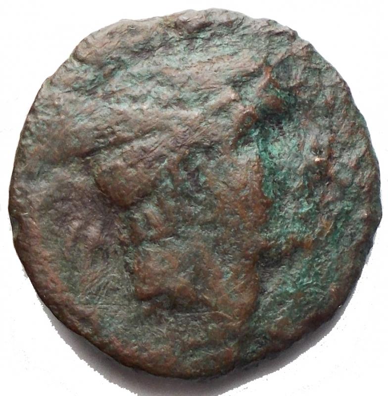 obverse: Repubblica Romana - Dopo il 211 aC. Sestante con rovescio incuso. g 4,76. mm 18,75. MB+. R