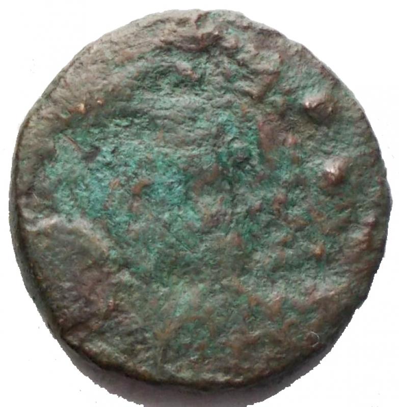 reverse: Repubblica Romana - Dopo il 211 aC. Sestante con rovescio incuso. g 4,76. mm 18,75. MB+. R