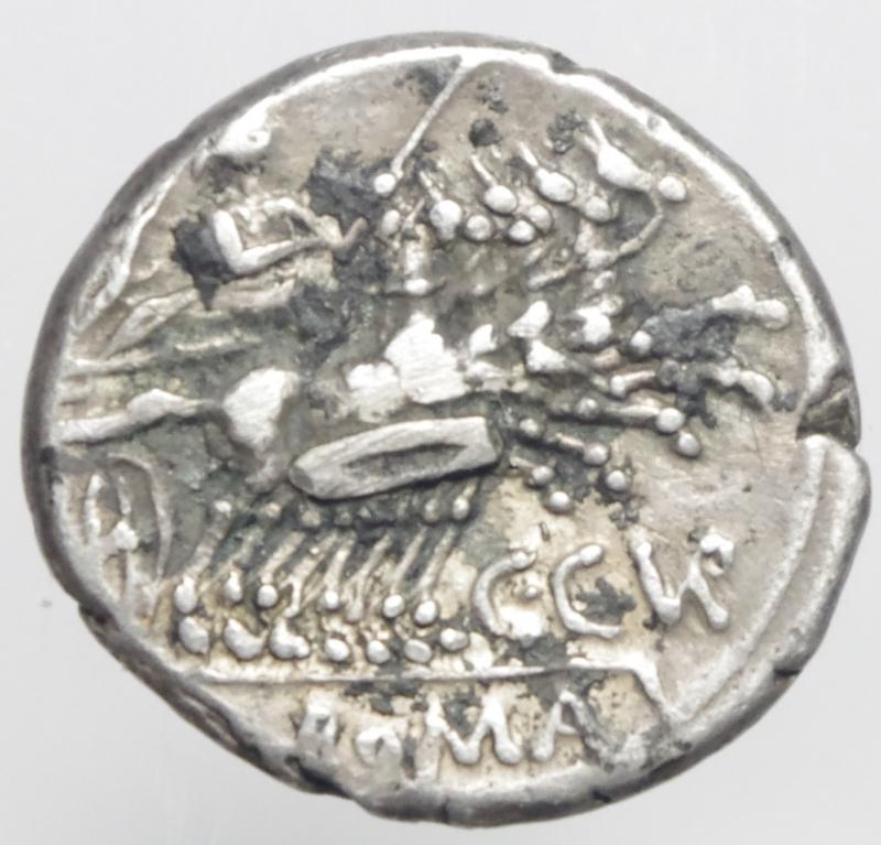 reverse: curiatia denario