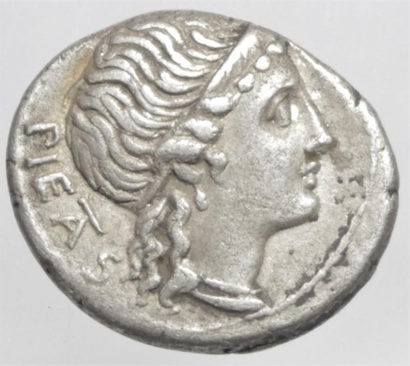 obverse: herennia denario