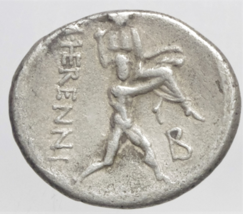 reverse: herennia denario