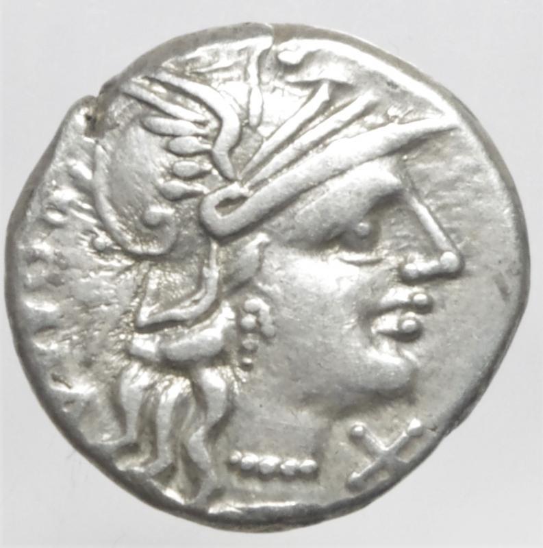 obverse: minucia denario