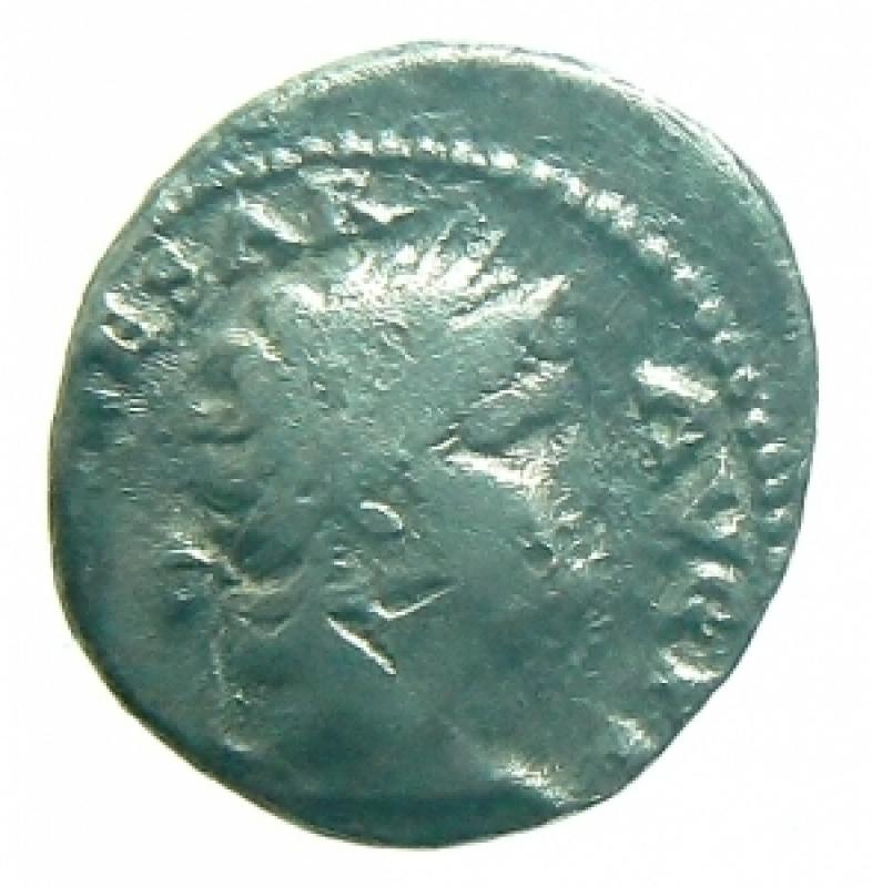 obverse: denario nerone