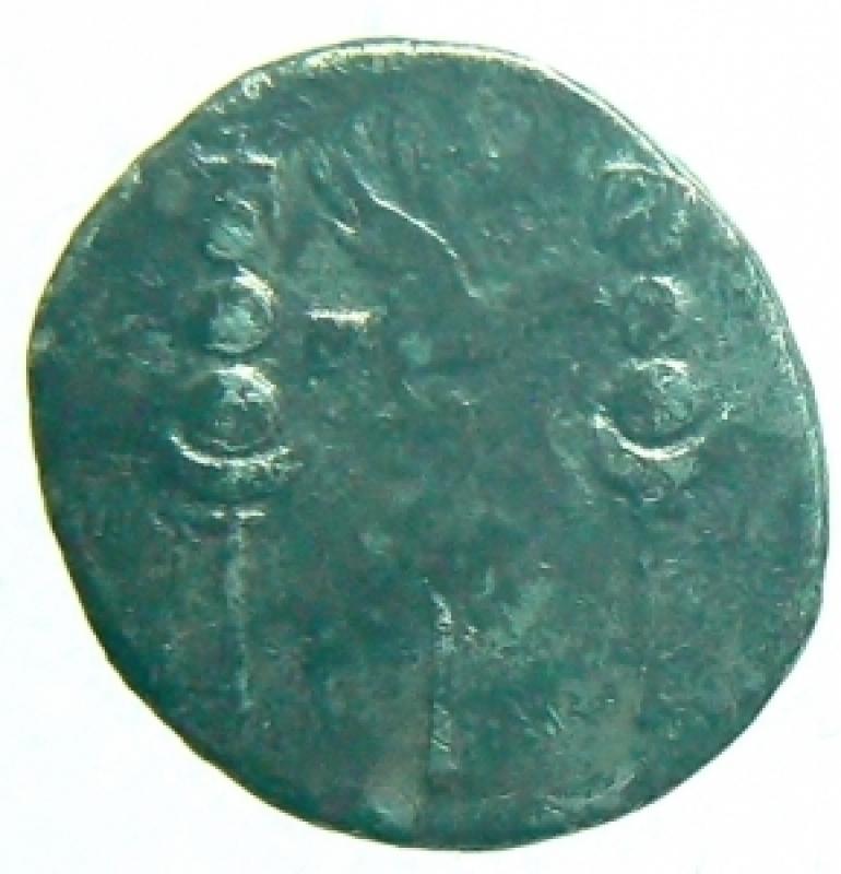 reverse: denario nerone