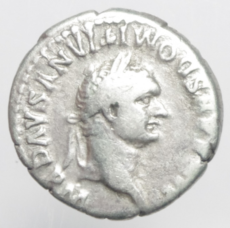 obverse: domiziano denario