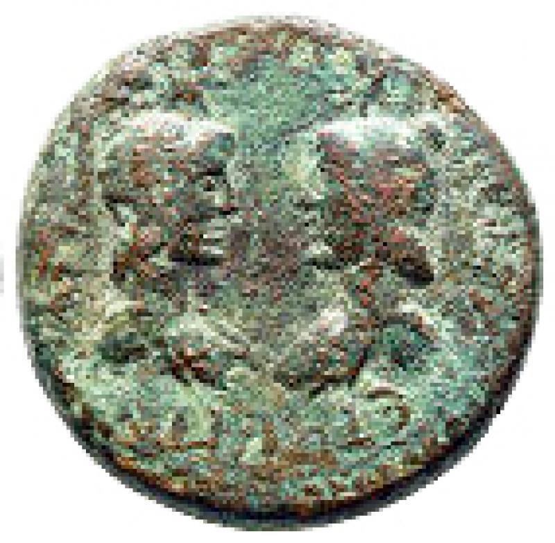 obverse: Impero Romano - Cilicia. Flaviopolis - Flavias. Antoninus Pius AD 138-161. Bronze Æ 24 mm, 10,72 g nearly very fine