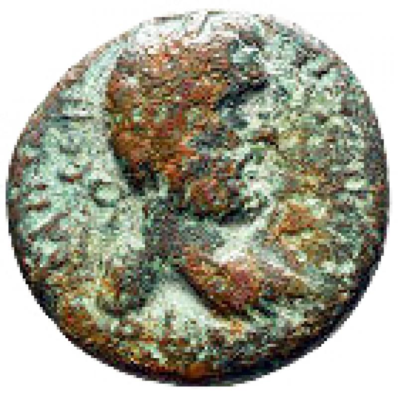 reverse: Impero Romano - Cilicia. Flaviopolis - Flavias. Antoninus Pius AD 138-161. Bronze Æ 24 mm, 10,72 g nearly very fine