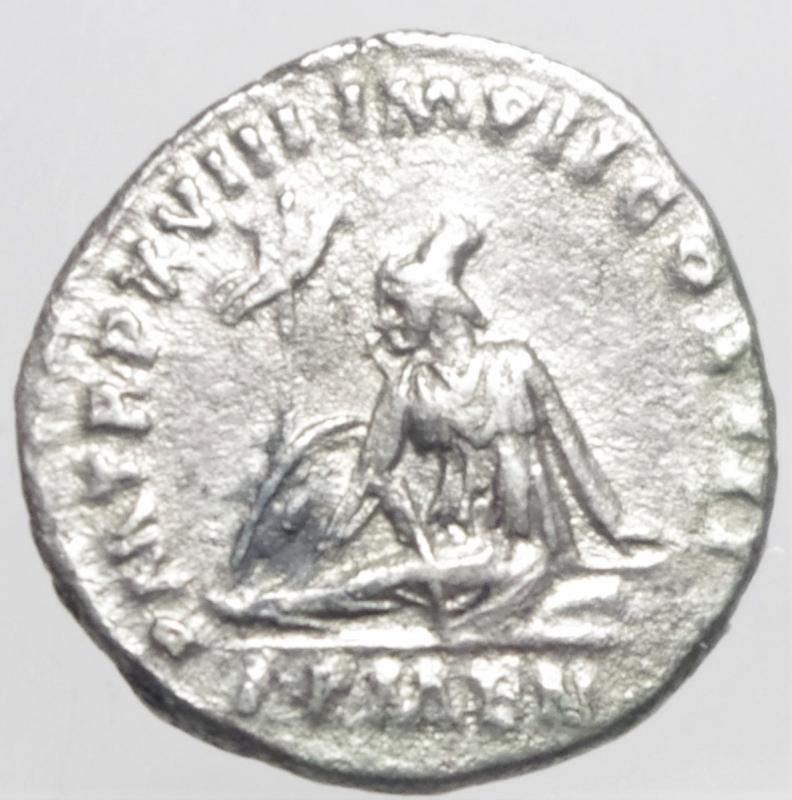 reverse: marco aurelio denario