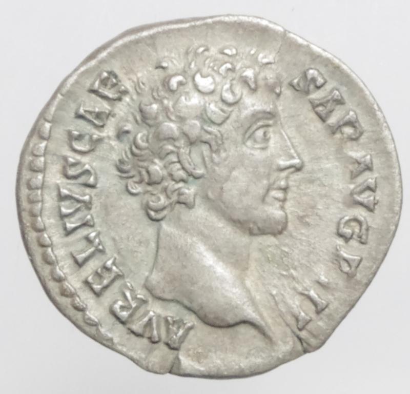 obverse: marco aurelio denario