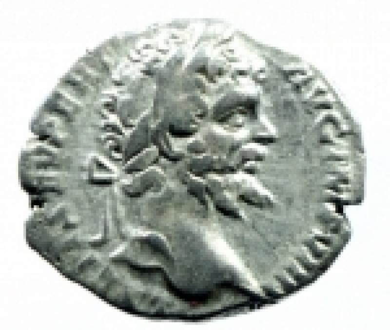 obverse: denario settimio severo