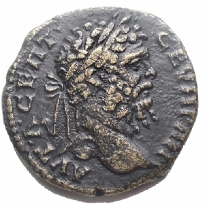 obverse: Impero Romano - Settimio Severo. 193-211. Ae provinciale. gr 12,5. mm 26,0. BB+